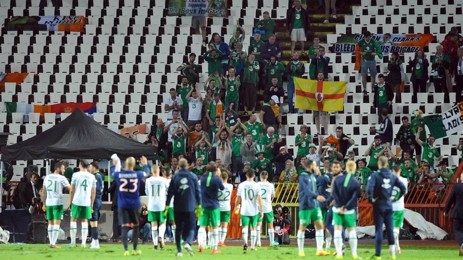 Republika Irska navijači