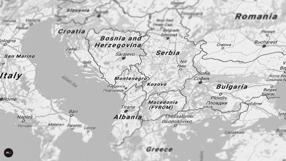balkan region srbija bosna bugarska makedonija albanija balkanci
