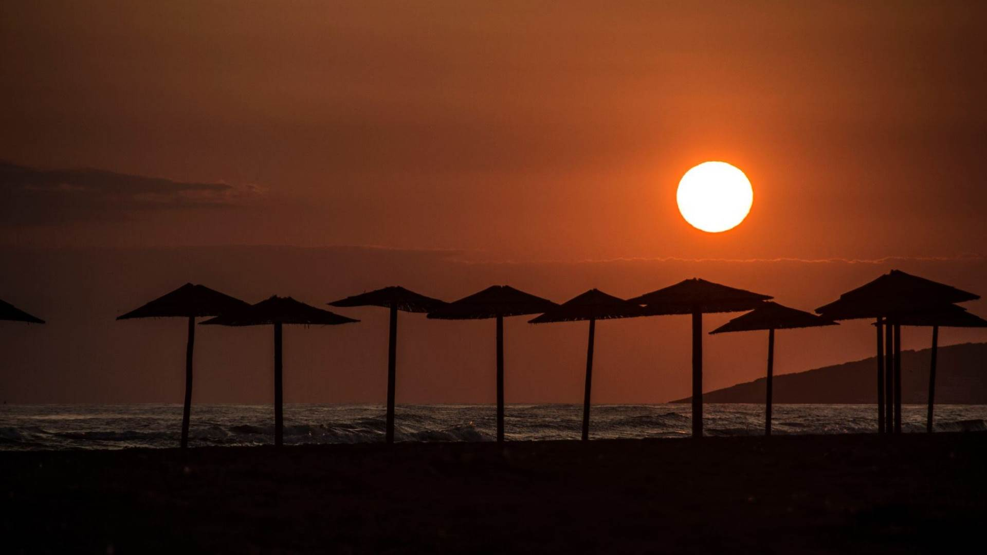 more, talasi, ljeto, voda, nebo, zalazak, sunce, Ada Bojana, Ulcinj