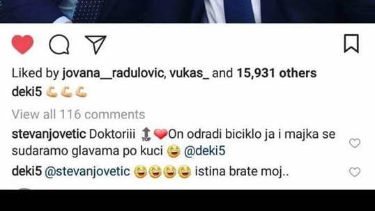 Jovetić komentar