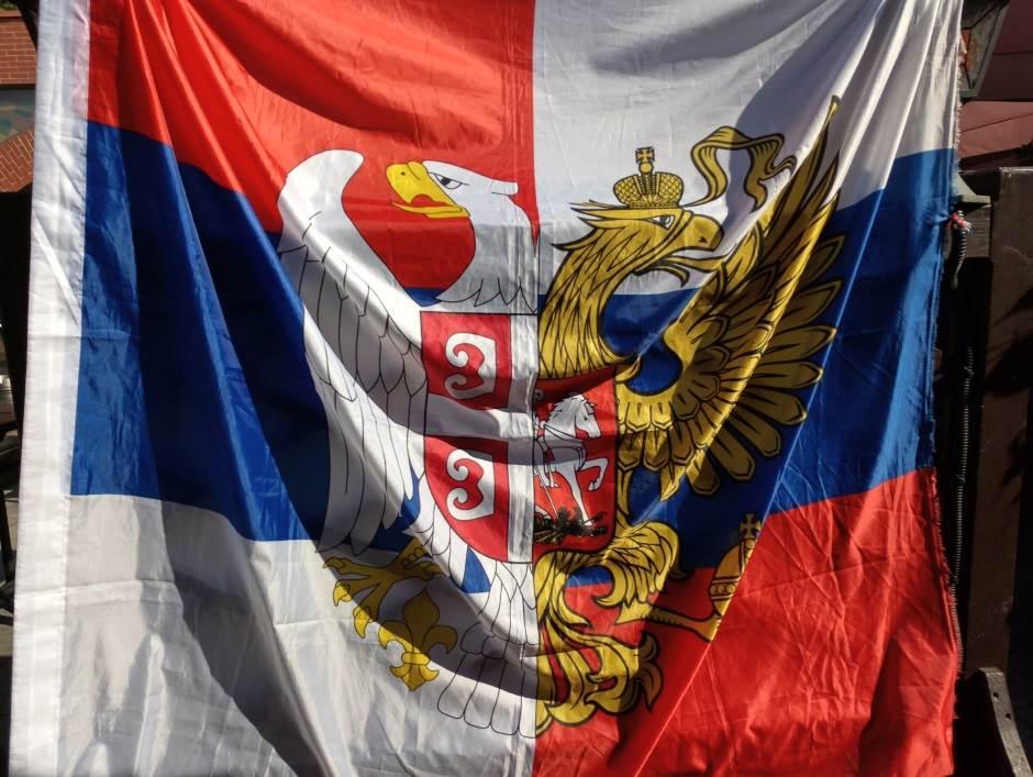 srpska zastava, srpsko-ruska zastava, Srbija, Rusija, Srbi i Rusi