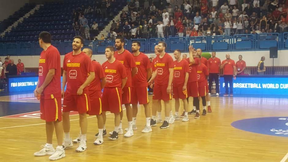 košarkaši reprezentacija Crna Gora