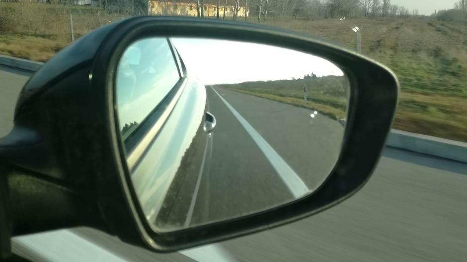 retrovizor, put, putevi, vožnja, drum, drumovi, saobraćaj