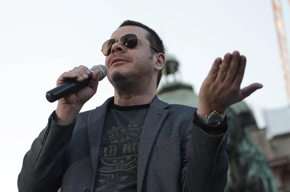 vlado georgiev, saša janković, miting, izbori 2017, trg republike,