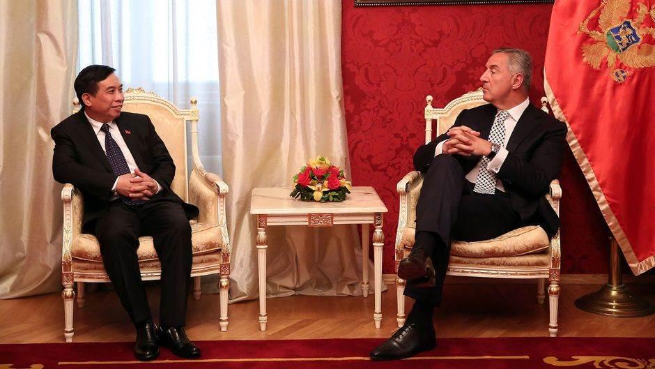 Đukanović i Phong