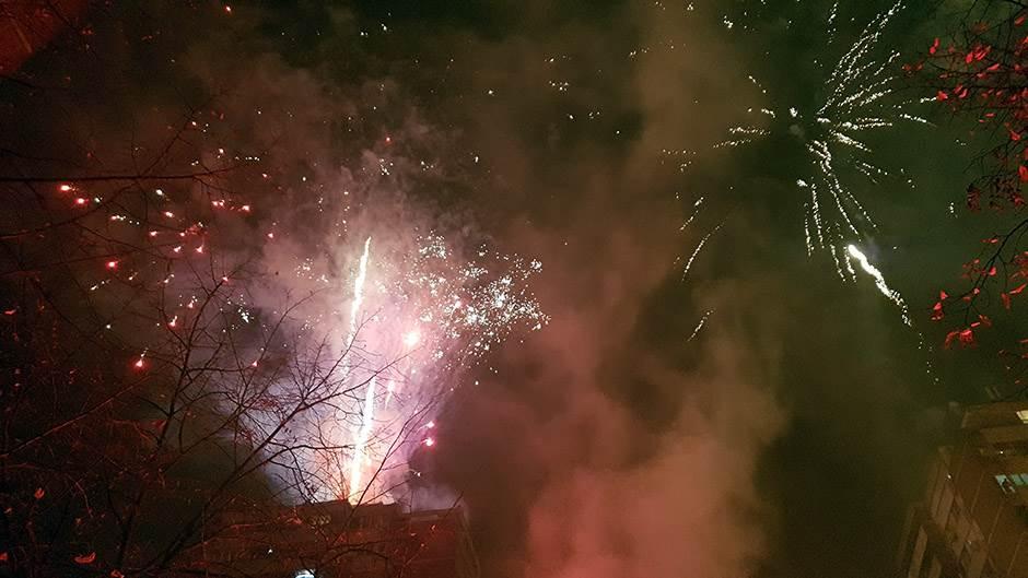 vatromet, blok 45, nova godina