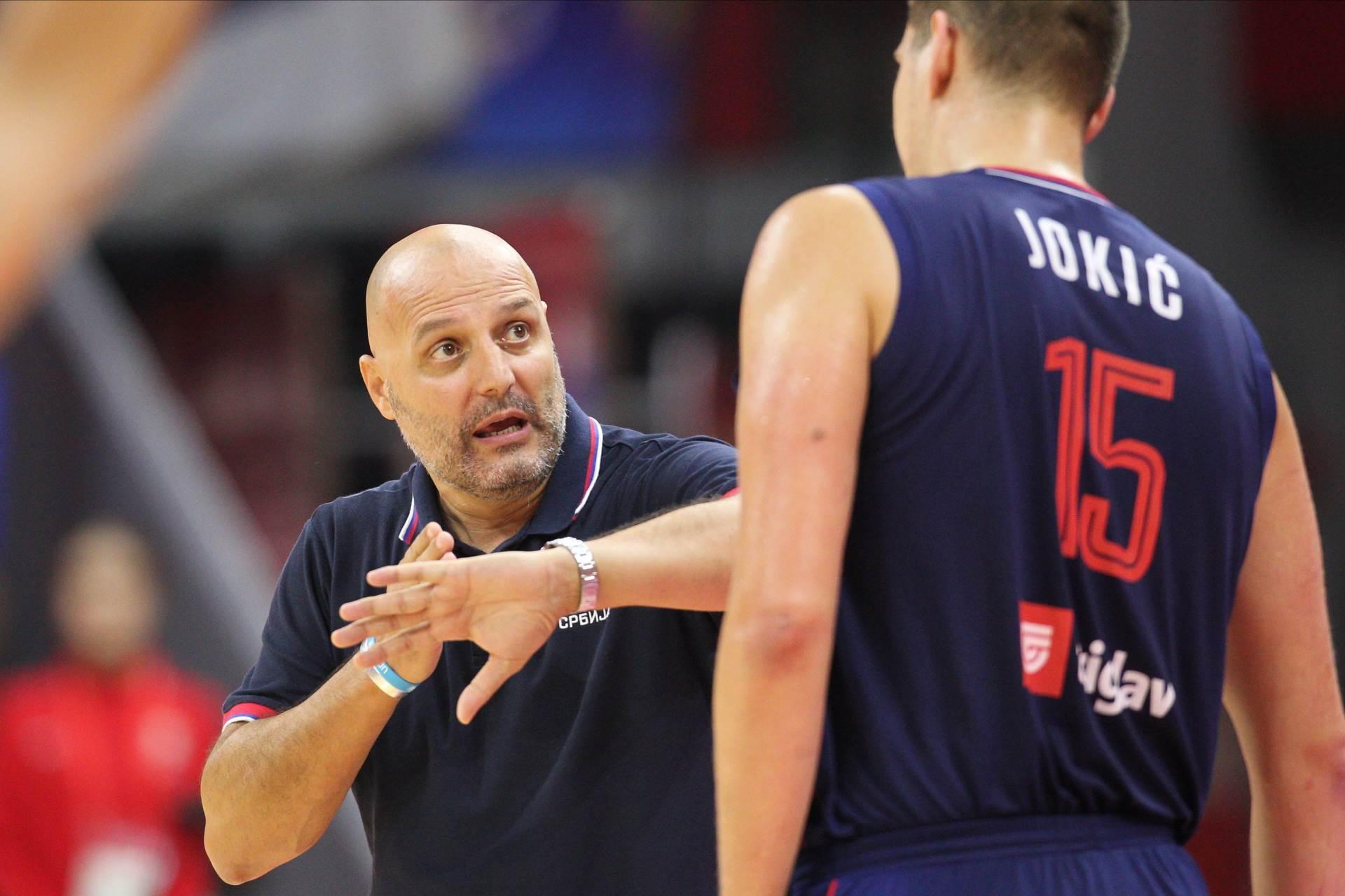 Saša Đorđević i Nikola Jokić