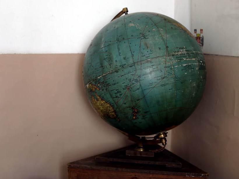 globus, škola. školski globus, gimnazija, geografija