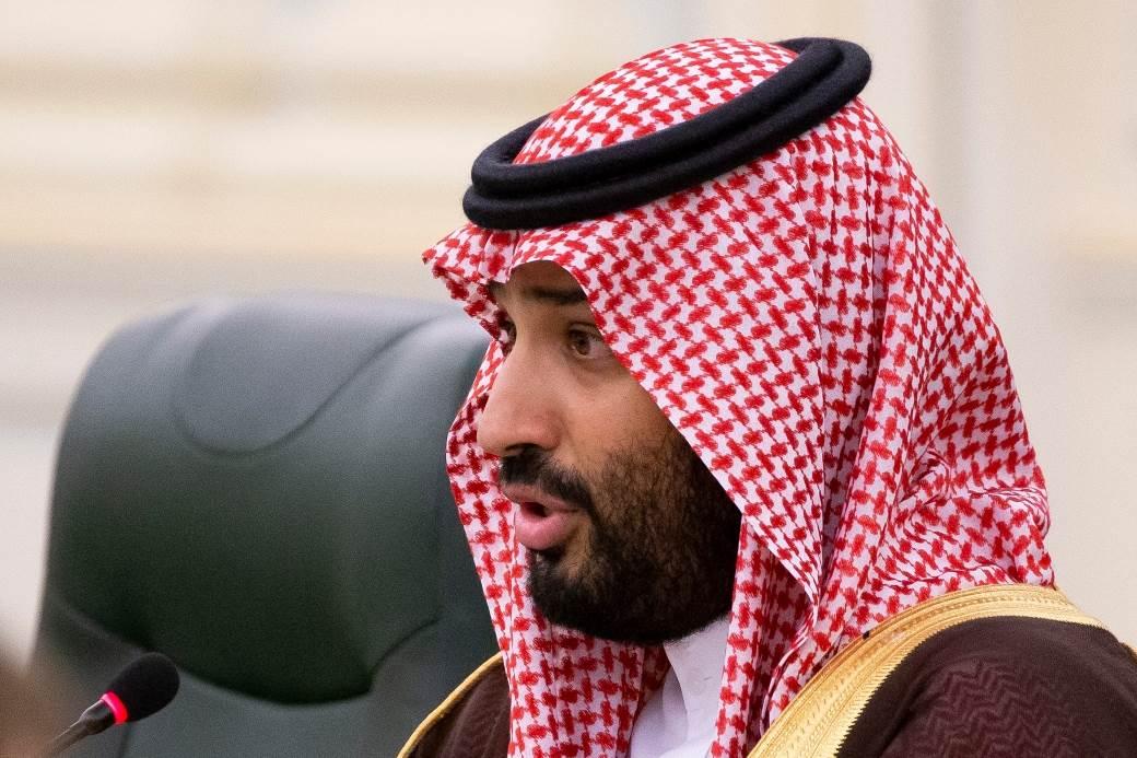 Saudijski prestolonaslednik Mohamed bin Salman