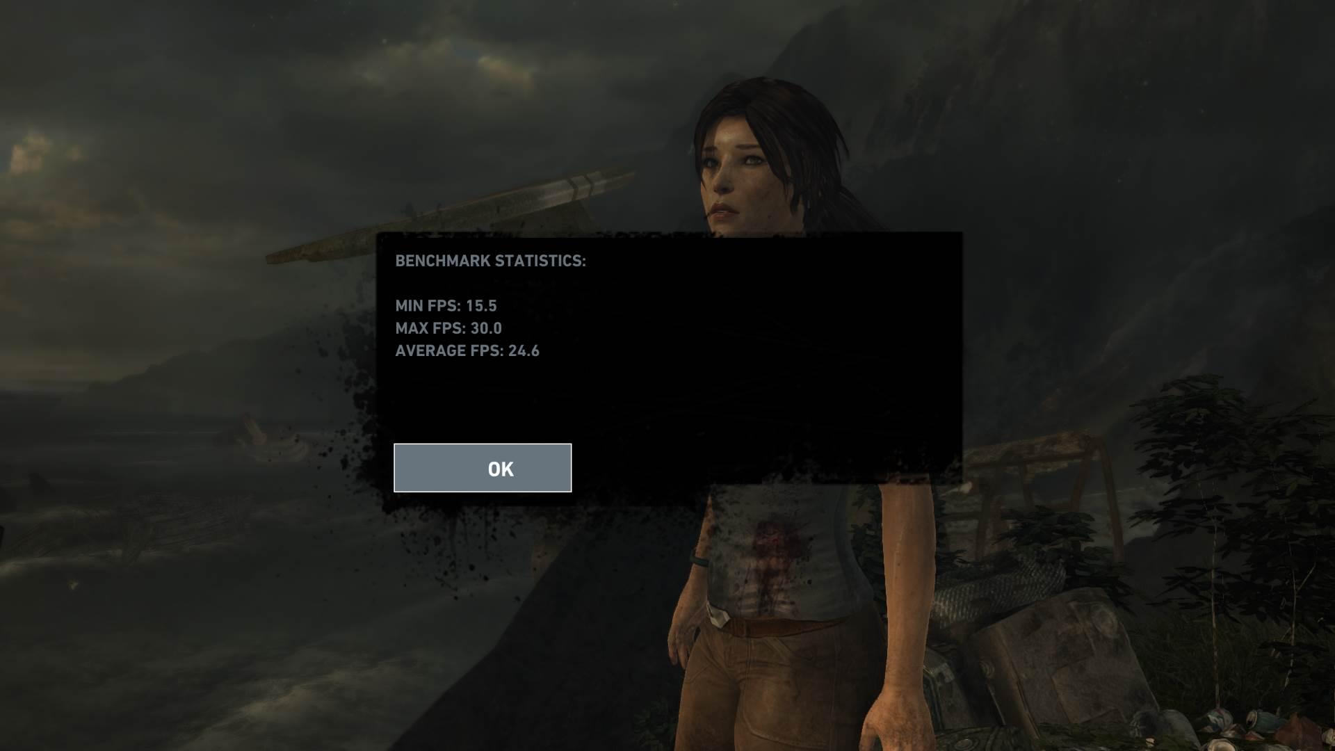 Tomb Raider HONOR MagicBook Gaming Benchmark