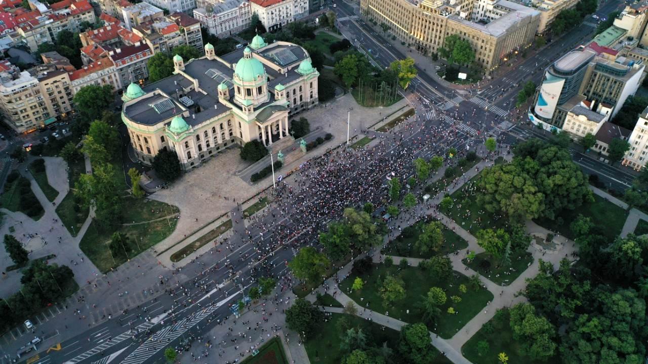Protest Skupština