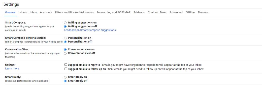 gmail smart compose smart compose personalization nudges i smart reply