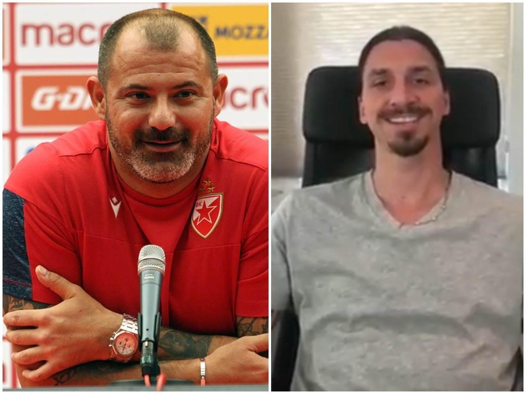 Dejan Stanković Zlatan Ibrahimović