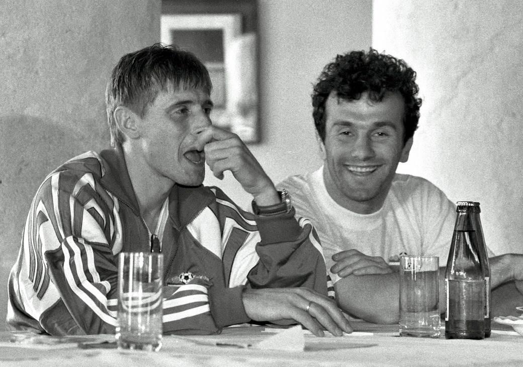 Dragan Stojković Piksi i Dejan Savićević.