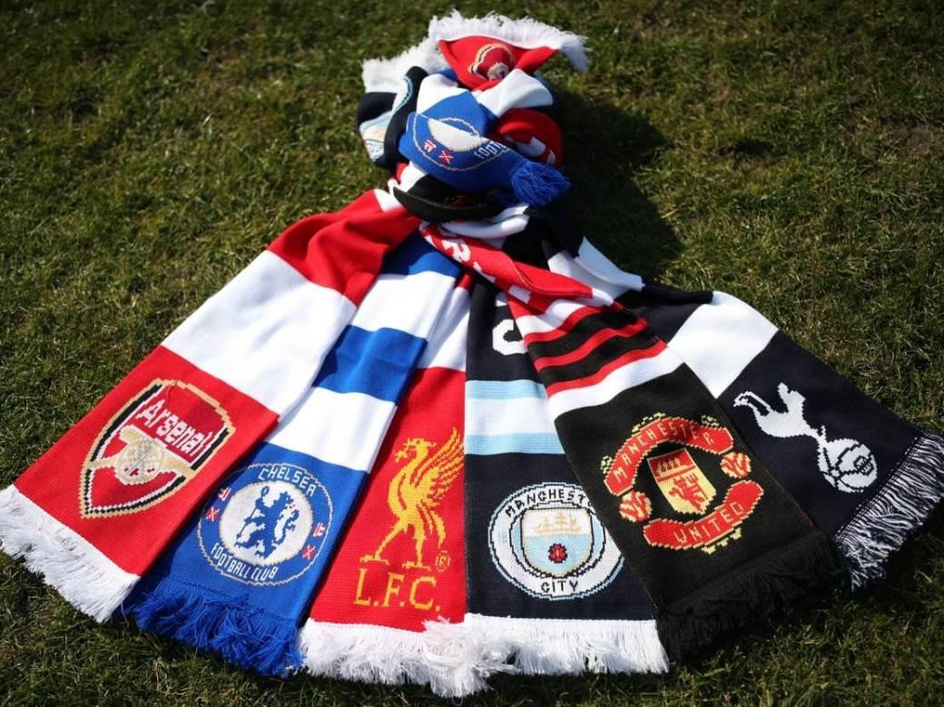 Čelsi Arsenal junajted siti liverpul totenhem