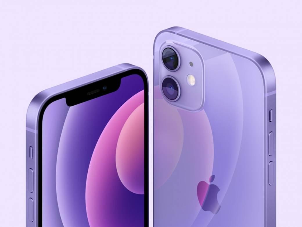 Novi iPhone 12 ljubičasta boja 5