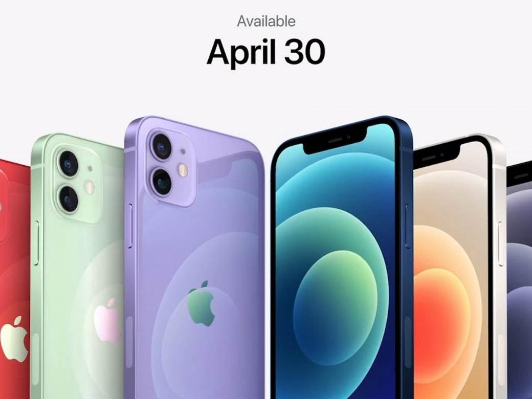 Novi iPhone 12 ljubičasta boja 1