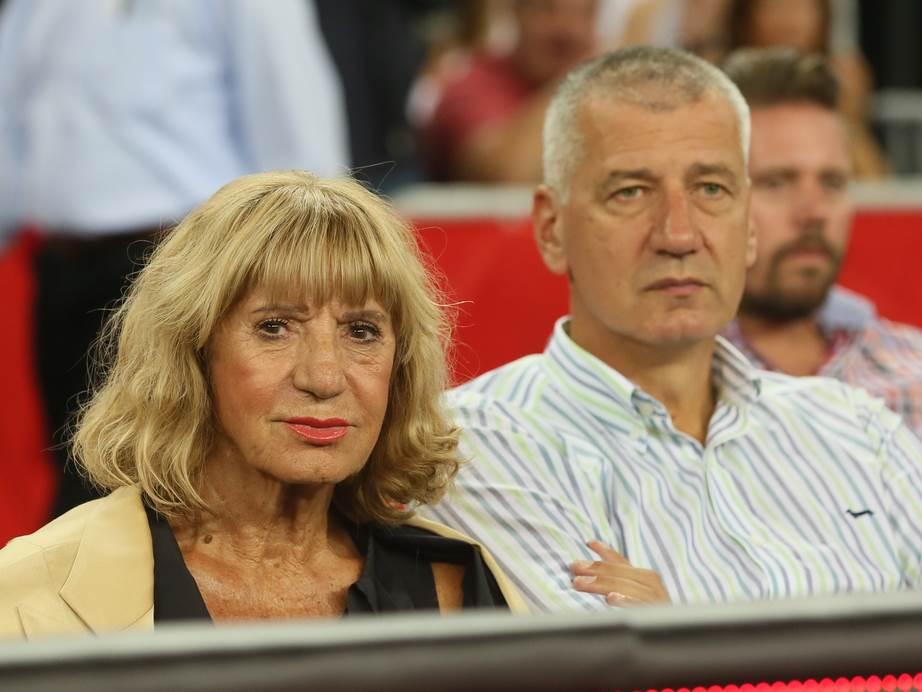 Biserka i Aco Petrović, majka i brat legendarnog Dražena.