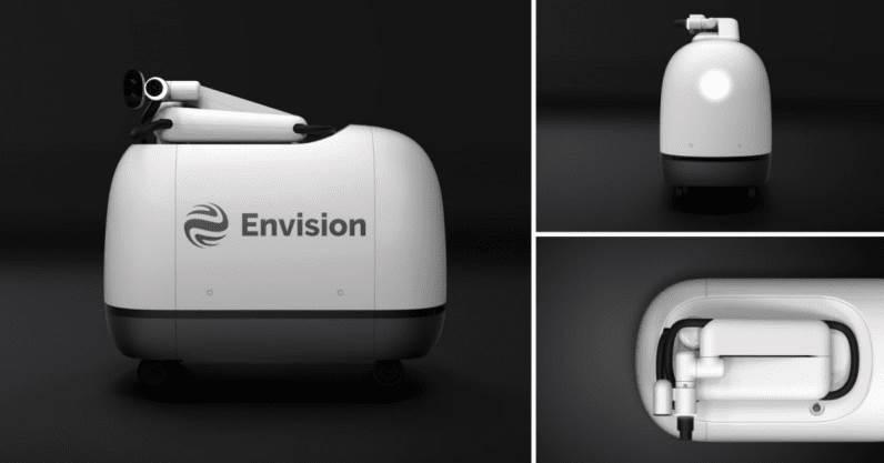 mochi envision enostm električni automobili baterije punjač robot