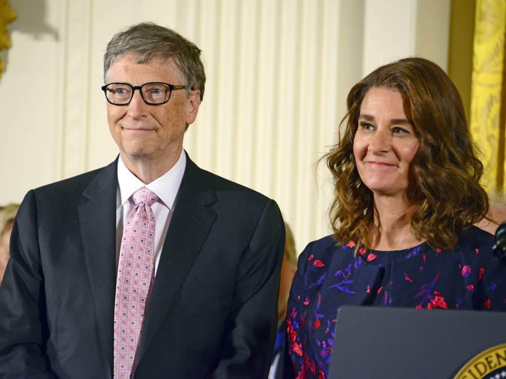 Washington;DC. White House;Medal of Freedom;Barack Obama; Bill Gates; Melinda Gates