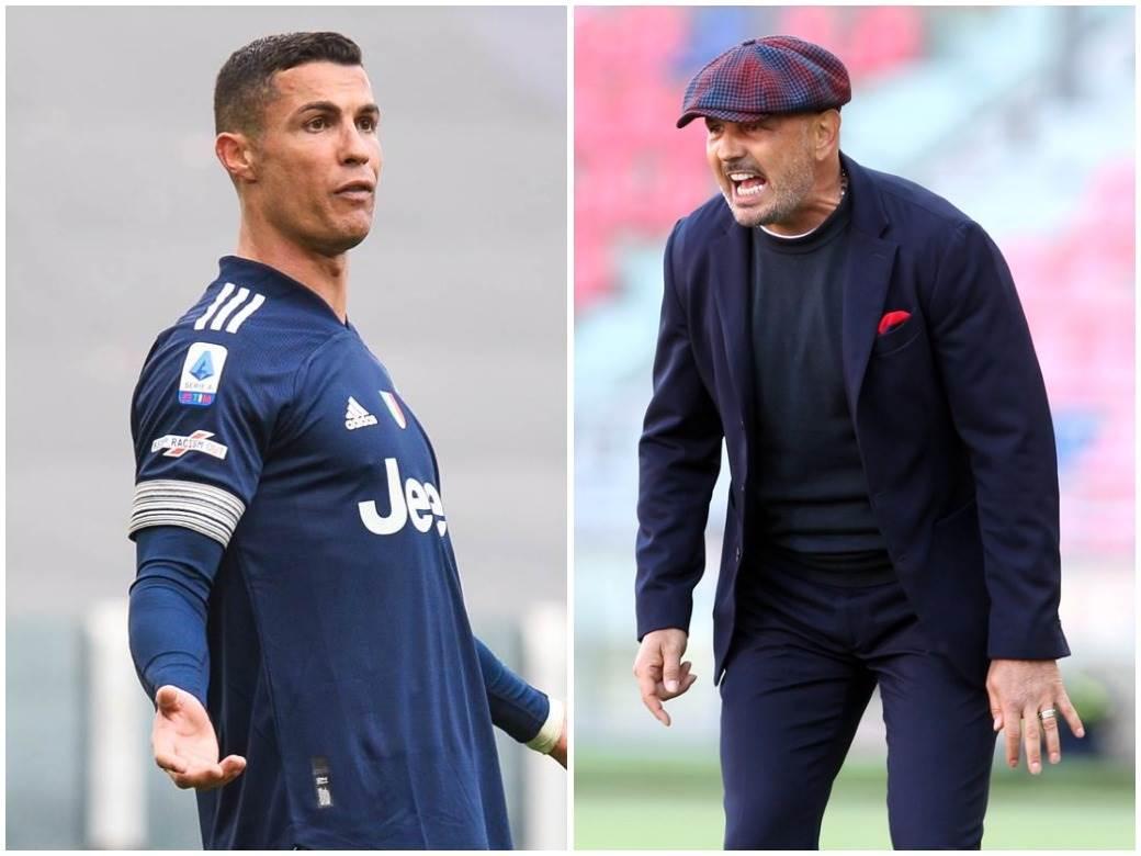 Siniša Mihajlović Kristijano Ronaldo