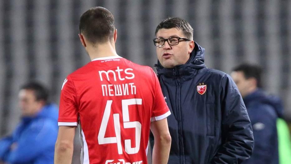 Aleksandar Pešić i Vladan Milojević.