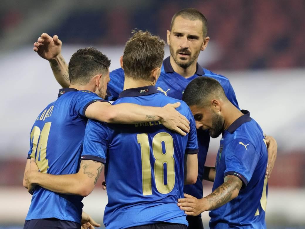 Italija na Evropskom prvenstvu.