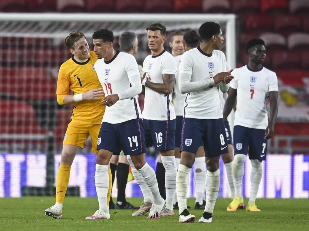 Fudbalska reprezentacija Engleske.