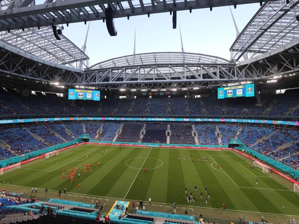 Zenit Arena Sankt Peterburg stadion