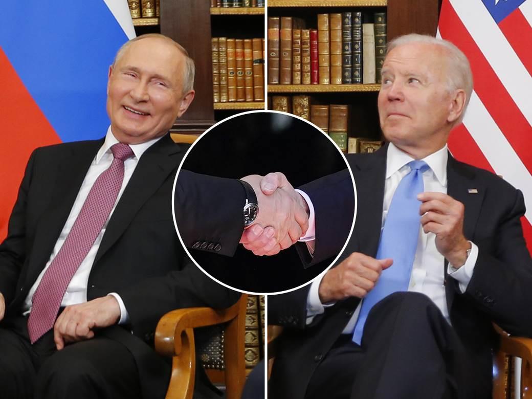 Biden Putin Ženeva