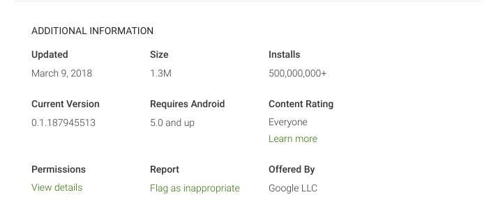 google assistant playstore aplikacija 500 miliona