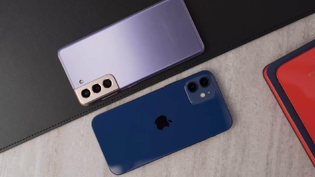 iPhone 12 VS Galaxy S21 (MobIT)