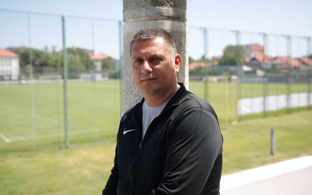 Vanja Radinović,direktor Omladinske škole Partizana