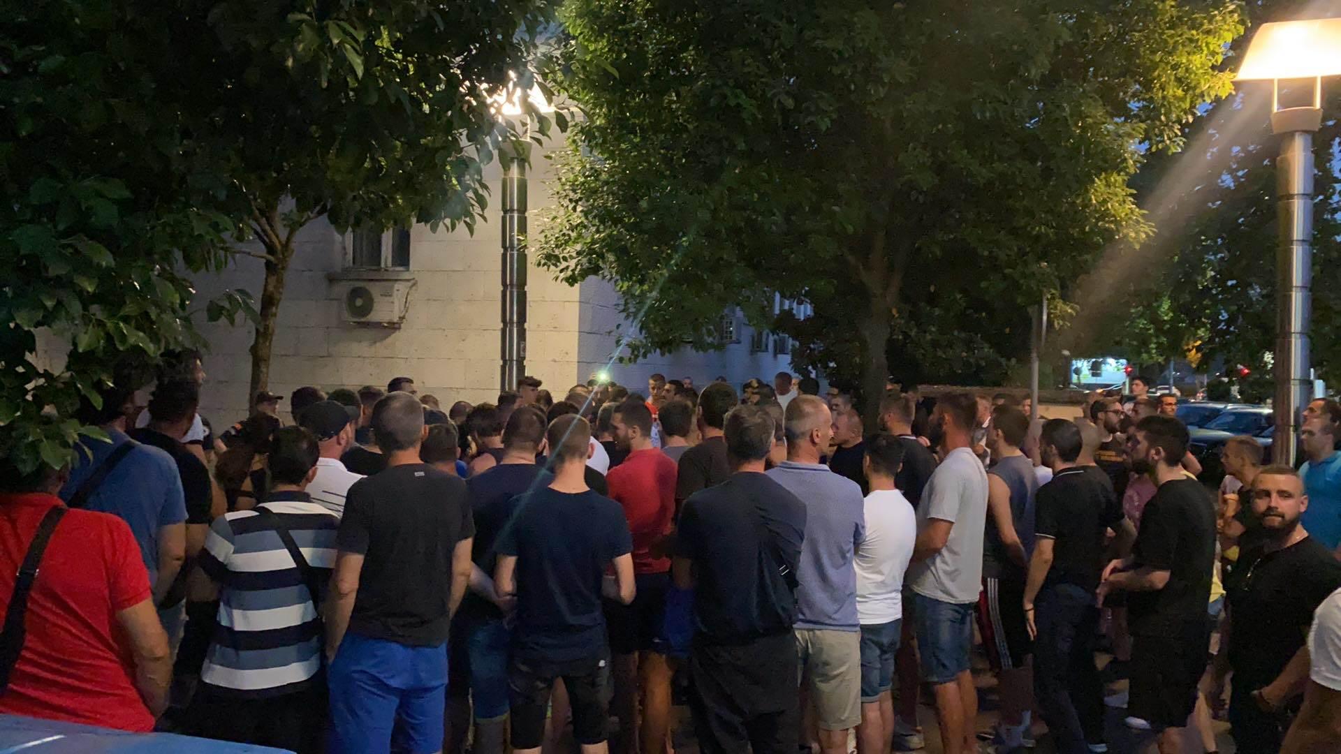 Protest zbog hapšenja Jovanovića