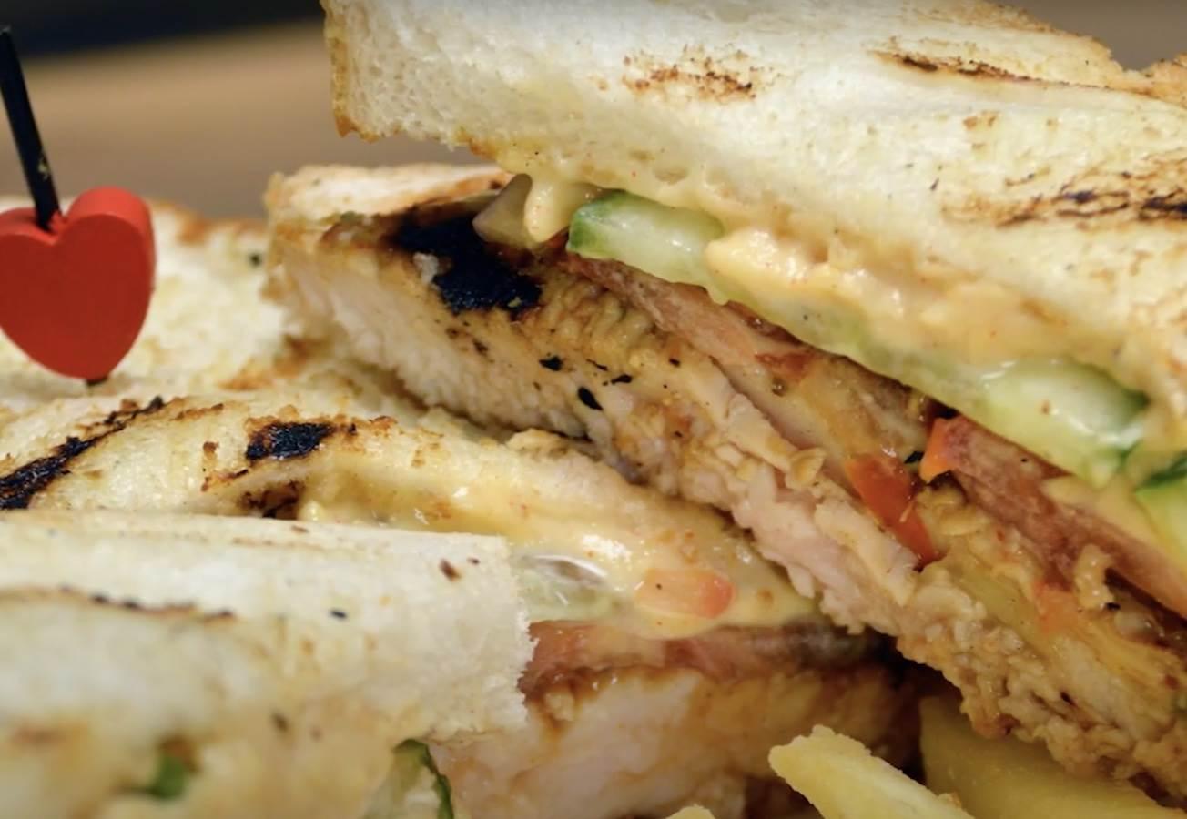 sendvic s piletinom