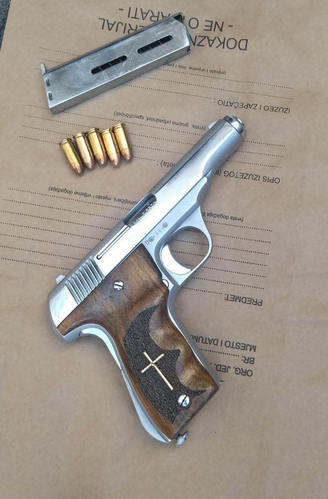pištolj, pg