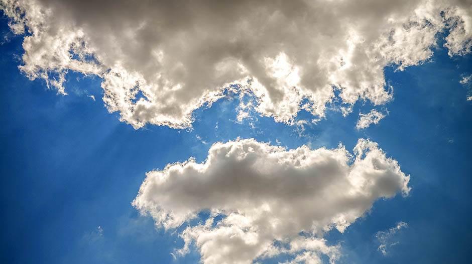 nebo, oblak, oblaci, vedro, vrijeme